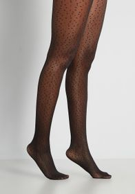 Spotted Speck-tacle Tights in Black Spots