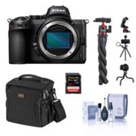 Nikon Z5 Mirrorless Camera Body Bundle with 32GB S