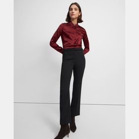 Straight Pant in Utility Wool