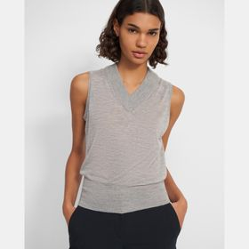 Aviator Shell Top in Cashmere