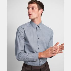 Irving Shirt in Printed Cotton
