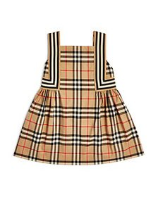 Burberry - Girls' Astrid Vintage Check Pinafore Dr
