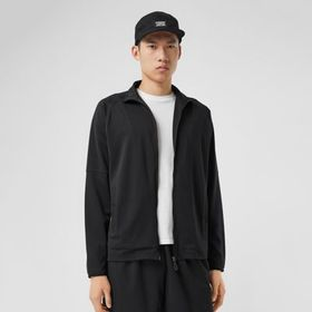 Burberry Vintage Check Trim Technical Track Top