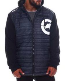Ecko rhino block hybrid jacket (b&t)