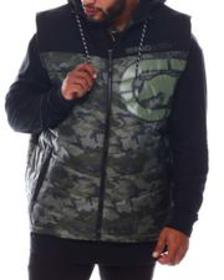 Ecko on repeat b hooded vest (b&t)