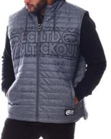 Ecko chested hooded vest (b&t)