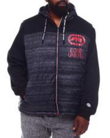 Ecko heads up hybrid jacket (b&t)