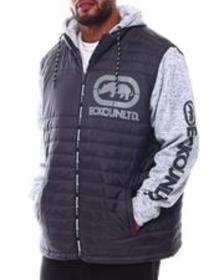 Ecko zip me up hybrid jacket (b&t)