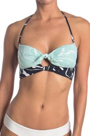 The Bikini Lab Island Breeze Reversible Bikini Top