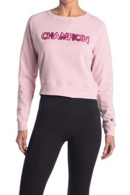 Champion Campus French Terry Crew Neck Sweater