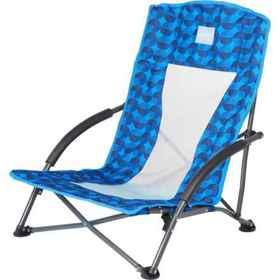 NorEast Outdoors Low Rider Sport Chair in Azure Ci