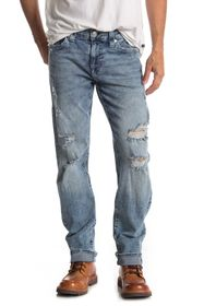 True Religion Geno No Flap Distressed Jeans