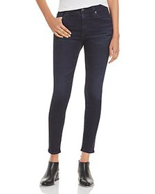 AG - Farrah Skinny High Rise Ankle Jeans in 5 Year