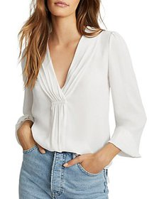 REISS - Bridgette Long Sleeved Blouse