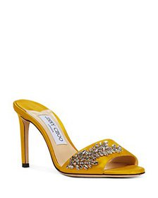 Jimmy Choo - Women's Stacey 85 High Heel Crystal M