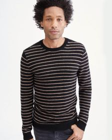7 For All Mankind Mohair Sweater in Heather Charco