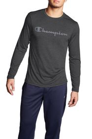Champion Double Dry Graphic Long Sleeve Tee
