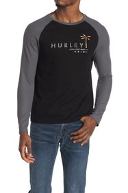 Hurley Tropical Mind State Raglan Thermal T-Shirt