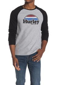 Hurley Thermal Raglan Long Sleeve T-Shirt