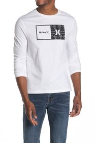 Hurley Graphic Print Long Sleeve T-Shirt