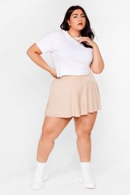 Nasty Gal Stone Little Roomy Plus Relaxed Shorts