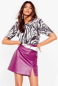 Nasty Gal Black Where the Wild Things Are Zebra To