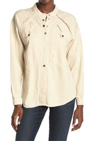 ba&sh Tyle Patch Pocket Shirt