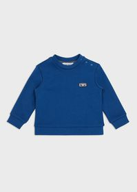 Armani Sweatshirt with EA micro patch and buttons