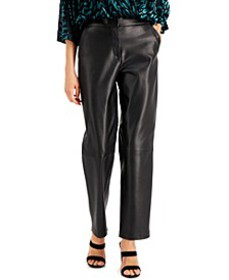 Faux-Leather Pants, Created for Macy's