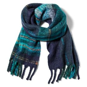Timberland Women's Plaid Blanket Scarf