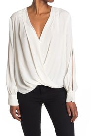 7 For All Mankind Front Drape Top