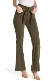 7 For All Mankind Paperbag Wide Leg Pants