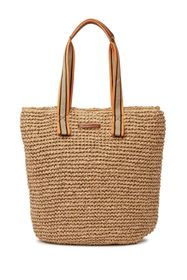 French Connection Jordan Woven Straw Tote