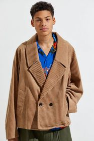 Monkey Time Cropped Corduroy Coat