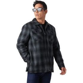 Stoic StoicBuffalo Plaid Sherpa-Lined Shirt Jacket