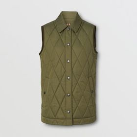 Burberry Diamond Quilted Thermoregulated Gilet in