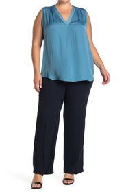 Vince Camuto Solid Crepe Pants