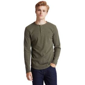 Timberland Men's Dyer River Slim-Fit Waffle-Knit H