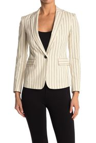 Rag & Bone Lexington Stripe Print Blazer