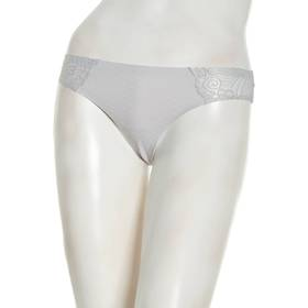Womens Jessica Simpson Scallop Detail Thong Pantie