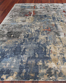 Exquisite Rugs Barrington Hand-Knotted Rug 9' x 12