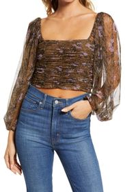 Free People Lilia Crop Top