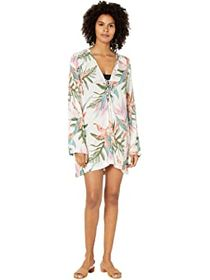 Hurley Hana Lace-Up Cover-Up