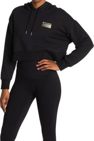 New Balance Optiks Boxy Crop Pullover Hoodie