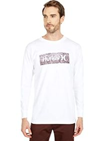 Hurley Boxed Texture Long Sleeve