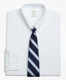 Brooks Brothers Milano Slim-Fit Dress Shirt, Non-I
