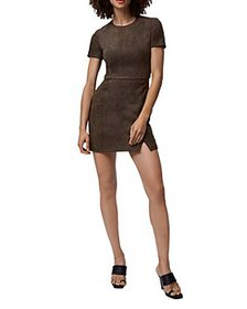 FRENCH CONNECTION - Patty Faux Suede Mini Dress
