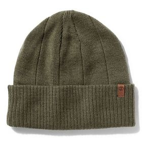 Timberland Men's Heathered Ribbed Beanie