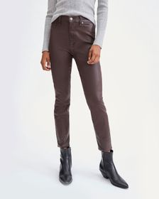 7 For All Mankind Coated High Waist Ankle Skinny i