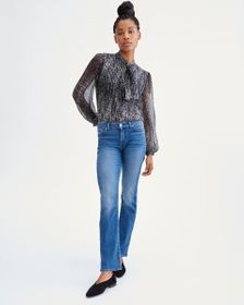 7 For All Mankind B(air) Denim Kimmie Straight in